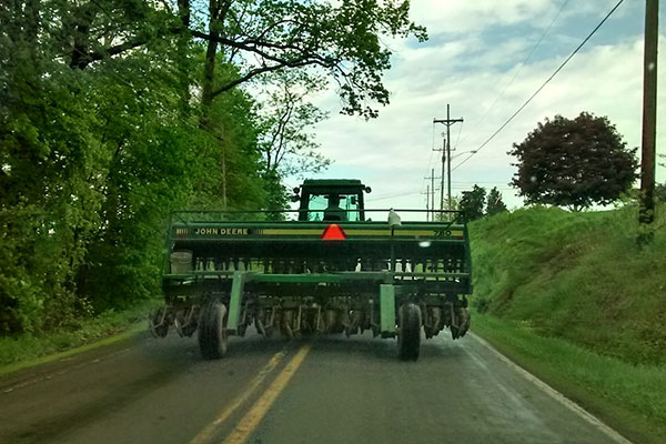 Ernst Seeds Urges Caution When Sharing the Road with Farm Equipment