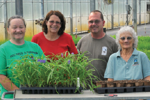 Ernst Seeds Greenhouse Team