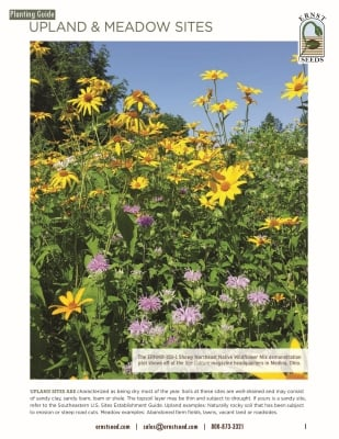 Upland and Meadow Sites Planting Guide_web
