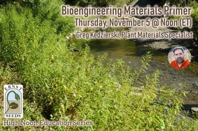 "Join us for ""Bioengineering Materials Primer"" on November 5 at Noon"